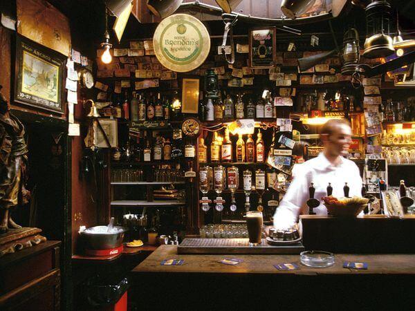 pubs irlandeses