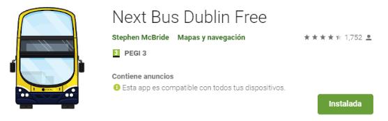 Dublin bus app