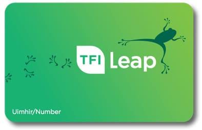 leap card para personas en irlanda
