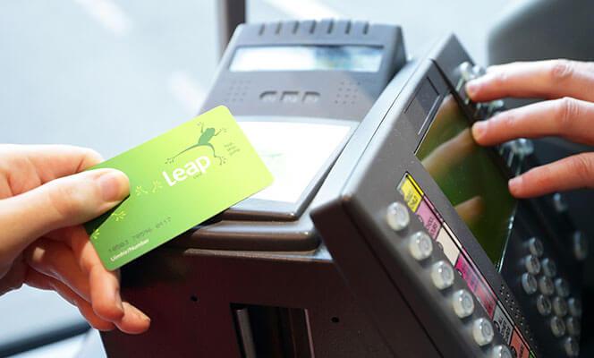 pagar con la leap card