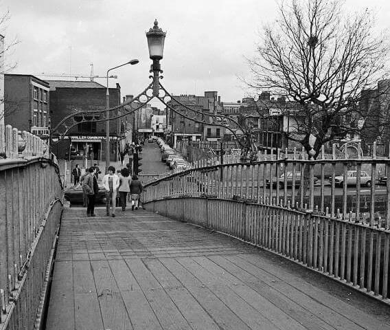 Hapenny-Bridge-historia