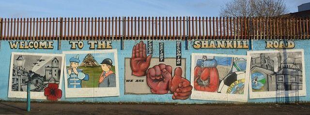 mural de la paz belfast