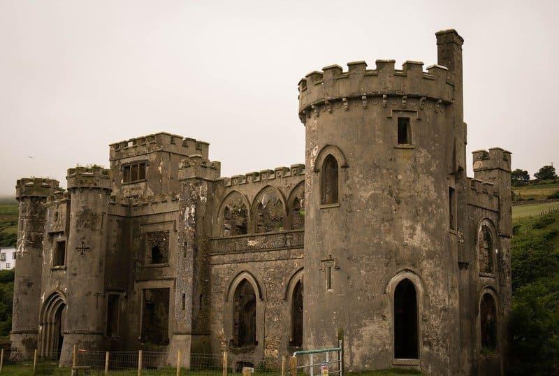 castillo fuerte irlanda