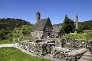 Monstario de Glendalough Irlanda