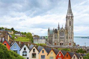 Ciudad de Cork en Irlanda
