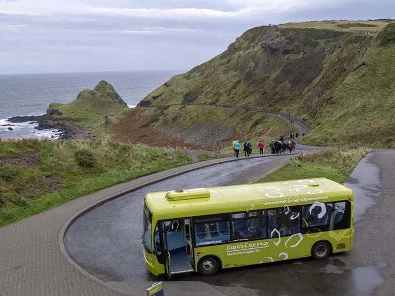 autobús de belfast a la calzada del gigante