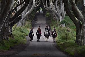 Ruta de juego de tronos en Irlanda