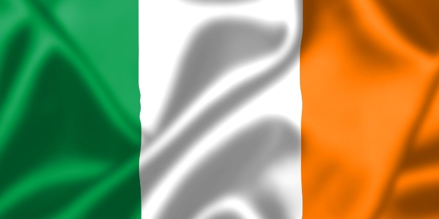 Cosas típicas de Irlanda y su Bandera de Irlanda