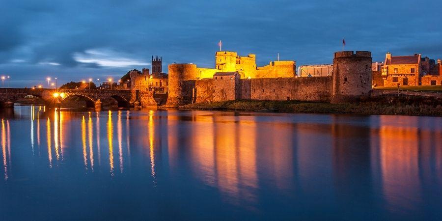 Limerick en Irlanda: Castillo del Rey Juan