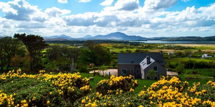 Condado de Donegal en Irlanda Europa