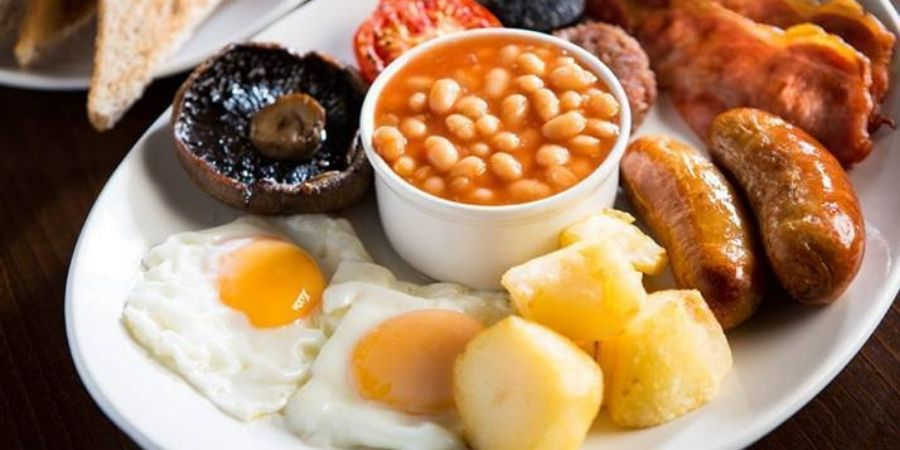 Desayuno Irlandes tipico de ese pais