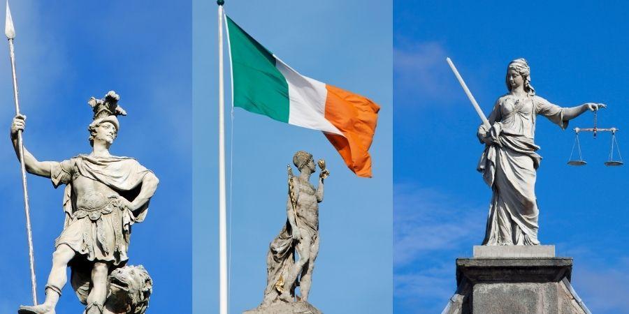 Estatuas de Dublin