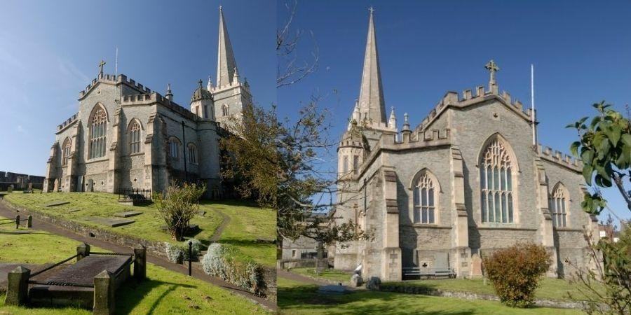 Dos miradas a la Catedral St Columbs