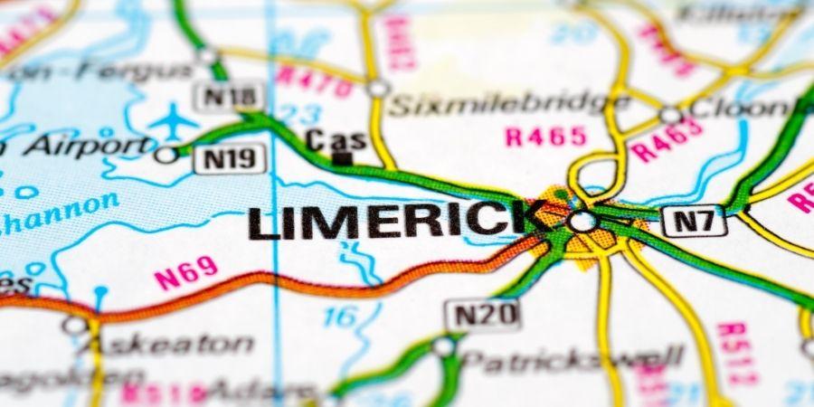 Ubicación de Limerick en el Mapa