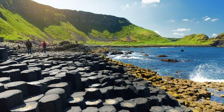 Maravilla de Irlanda Calzada de los Gigantes