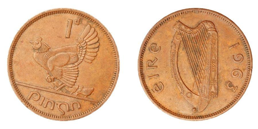 Moneda Harp Hen Chicks Éire