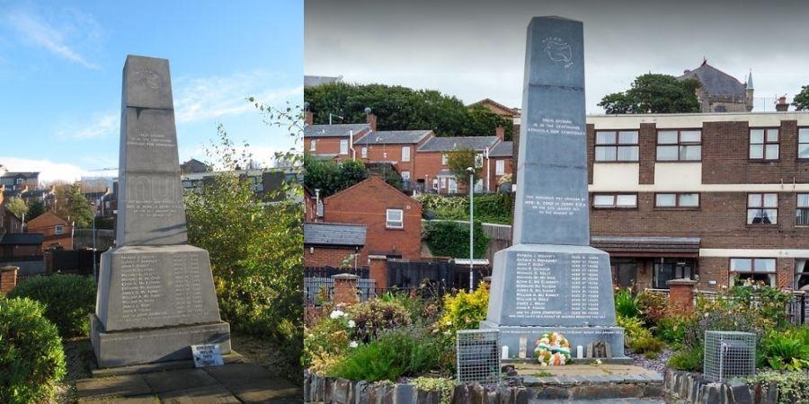 Monumento Memorial al Domingo Sangriento en Londonderry