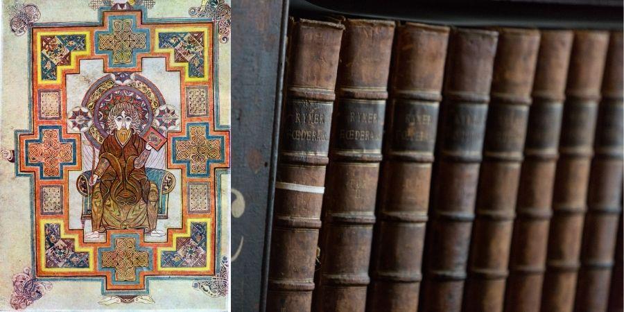 Portada de San Juan del Libro de Kells