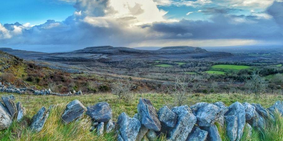 The Burren paisaje lunar en Irlanda