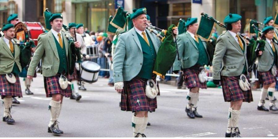 Traje Típico desfile de San Patricio