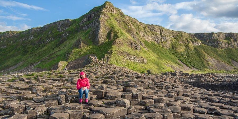 calzada de los gigantes un sitio turistico de irlanda