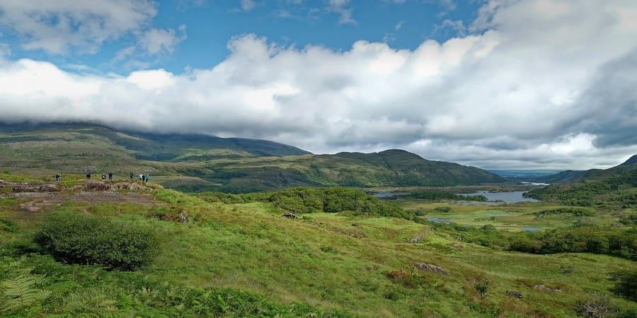 vista paradisiaca en el condado de kerry