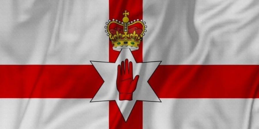 Bandera Vieja de Irlanda del Norte