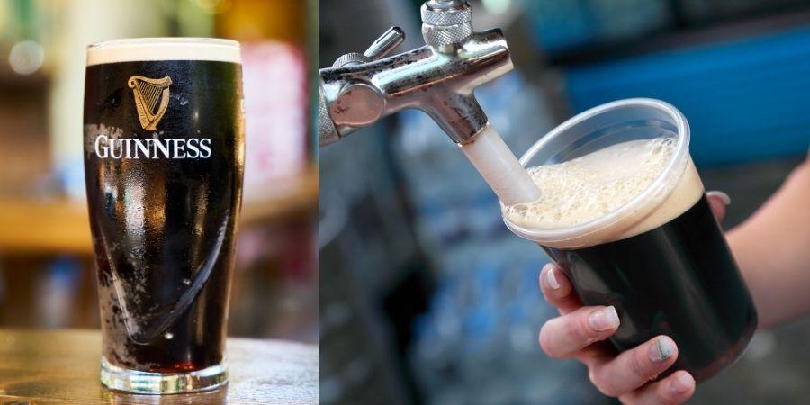 Curiosidades de Irlanda Hombre sirviendo Cerveza Guinness
