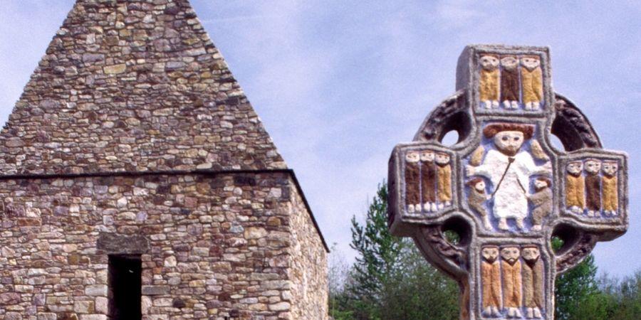 Cruz Celta símbolo religioso de  las bendiciones