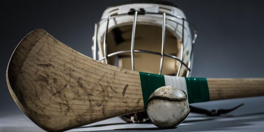 Instrumentos de Hurling en Cork vs Dublín República de Irlanda