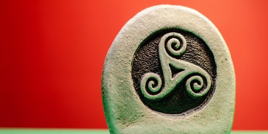 El símbolo del Triskele en la época de los Druidas Celtas
