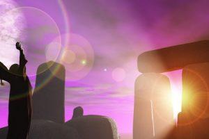 Druidas Celtas en Ritual