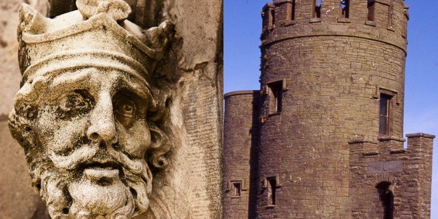 El gran Rey Brian Boru fué  el creador de muchos de los primeros Apellidos Irlandese