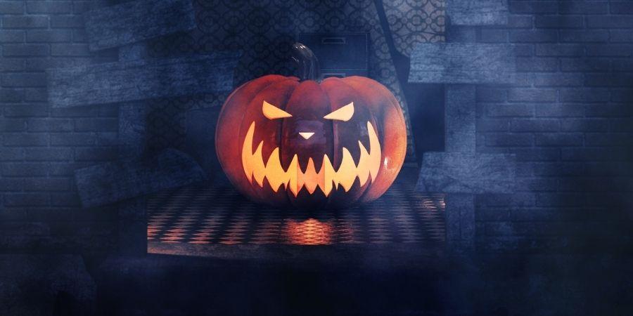 Imagen de Calabaza de Halloween Druidas Celtas