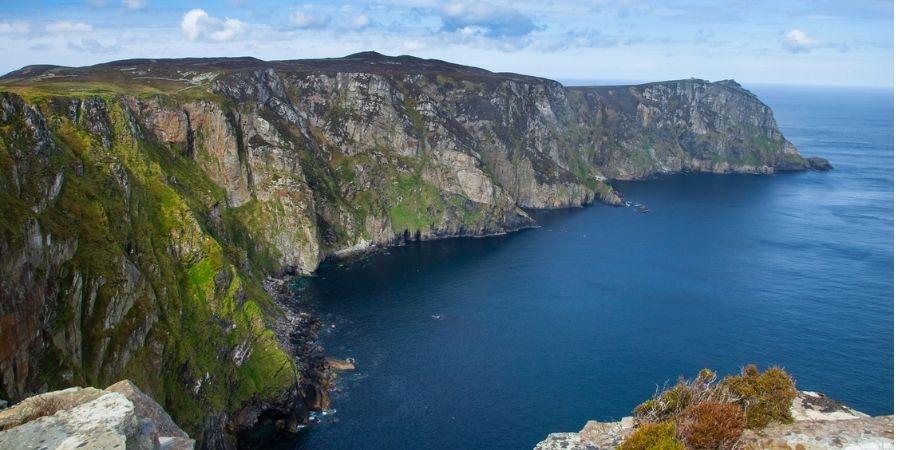 Acantilados Horn Head cerca de Dunfanaghy en Donegal