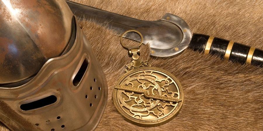 Elementos que empleaban los guerreros celtas para la guerra
