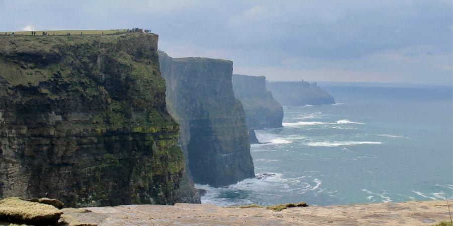 Entre las curiosidades de Irlanda los Acantilados más Altos de Europa