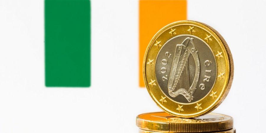 Moneda de Irlanda una de sus curiosidades es que presenta un arpa céltica