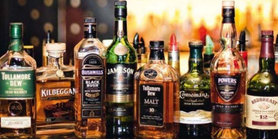 Marcas de Whisky Irlandés