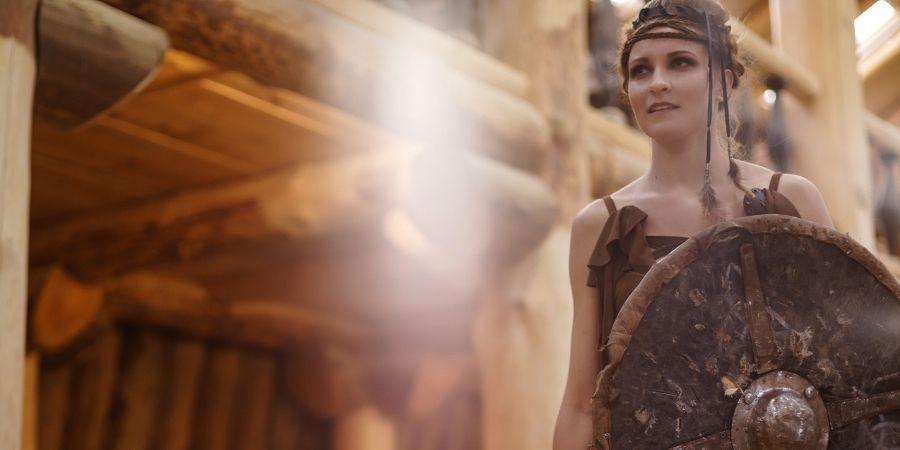 La mujer celta una verdadera Luchadora