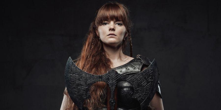 Celtas origen, mujer armada