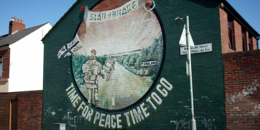 Mural de Paz, Belfast