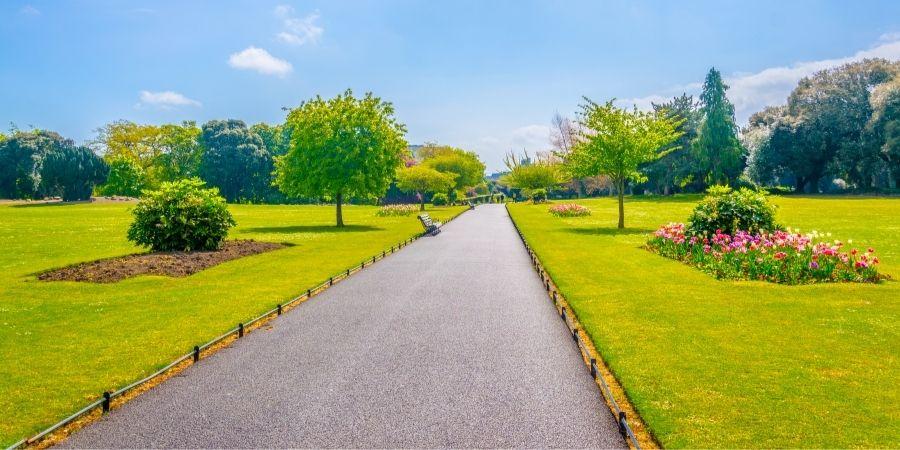 Uno de los parques de Dublin, El Phoenix Park