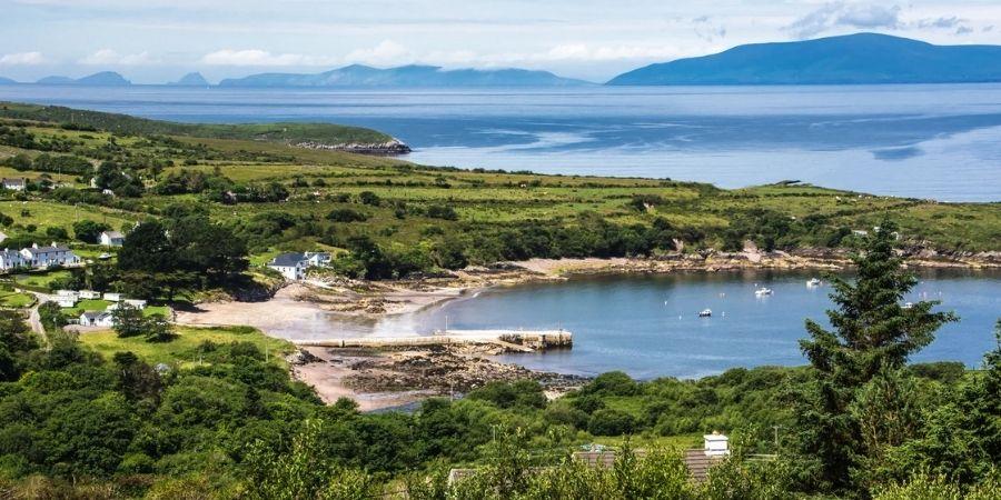 Foto de una de las playas en la Ring of Kerry
