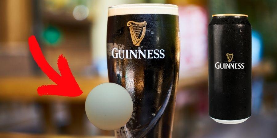¿Por qué la Cerveza Guinness tiene una bolita