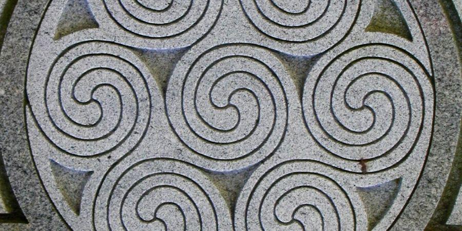 Druidas Celtas y el Doble Espiral