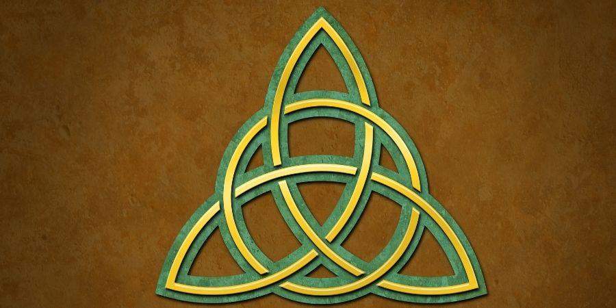 Triqueta divinidad de las mujeres celtas