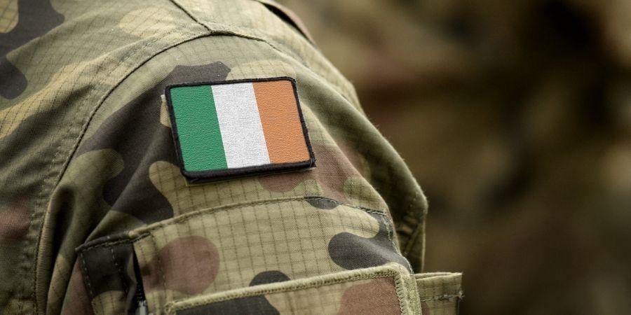 Soldado de Irlanda durante la WW2