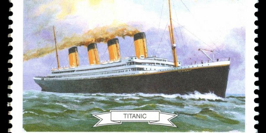 Curiosidades de Irlanda vieja estampilla del Titanic