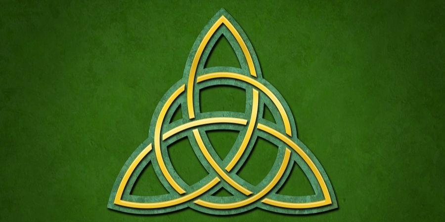 triqueta uno de los simbolos mas utilizados por los practicantes de la magia celta